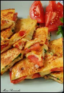 Quesadilla czyli kanapka z serem inaczej