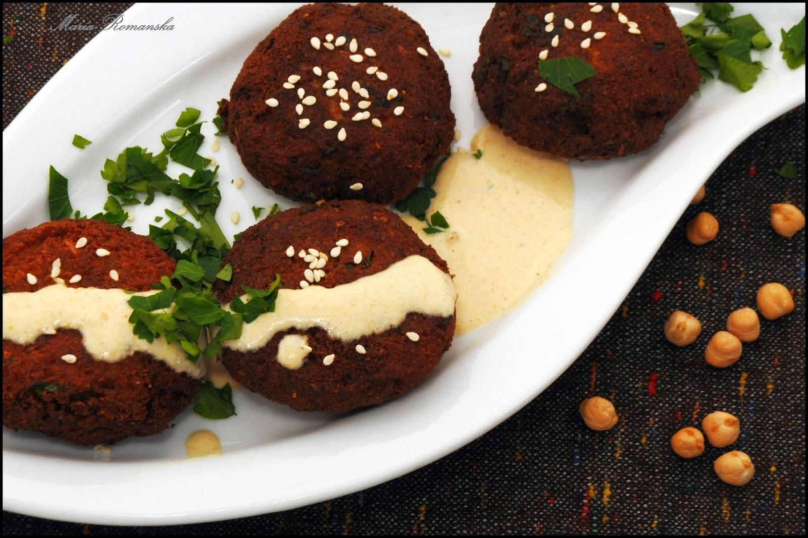 Falafel czyli kotleciki z cieciorki